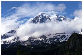 【小虫摄影】雪山Mt。 Rainier