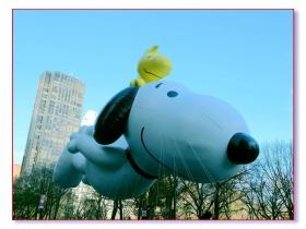 感恩节游行-气球篇