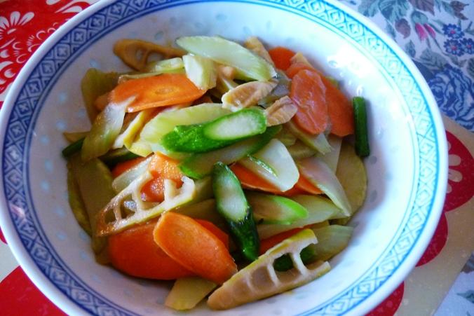 《江南小菜》—— 护肝美食炒三笋_图1-4