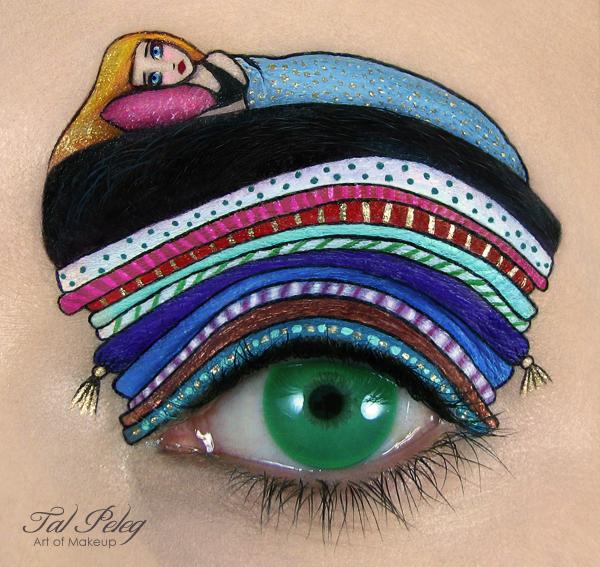 【攝影蟲】眼皮作画布的化粧藝術家_图1-2