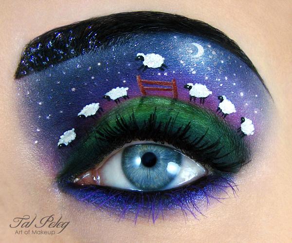 【攝影蟲】眼皮作画布的化粧藝術家_图1-3