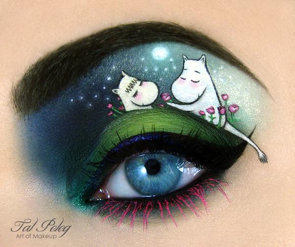 【攝影蟲】眼皮作画布的化粧藝術家_图1-4