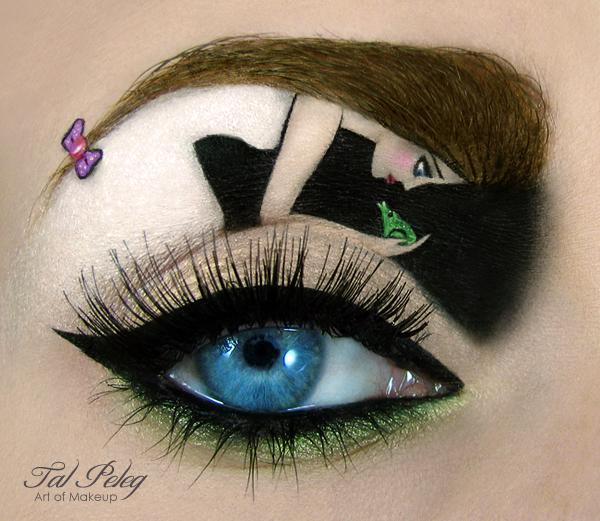 【攝影蟲】眼皮作画布的化粧藝術家_图1-5