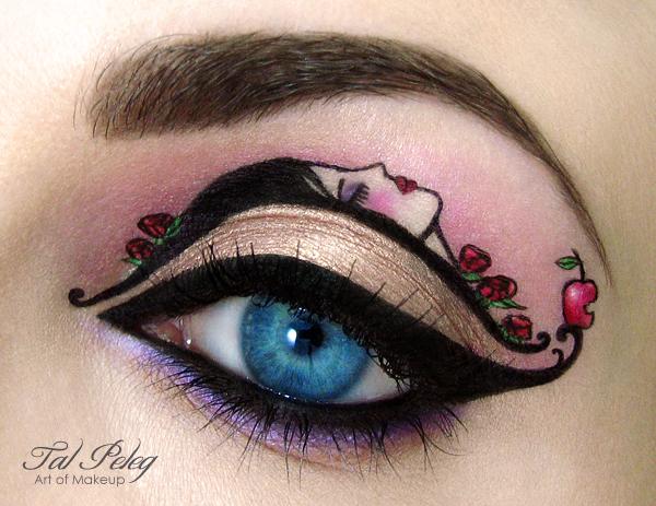 【攝影蟲】眼皮作画布的化粧藝術家_图1-6