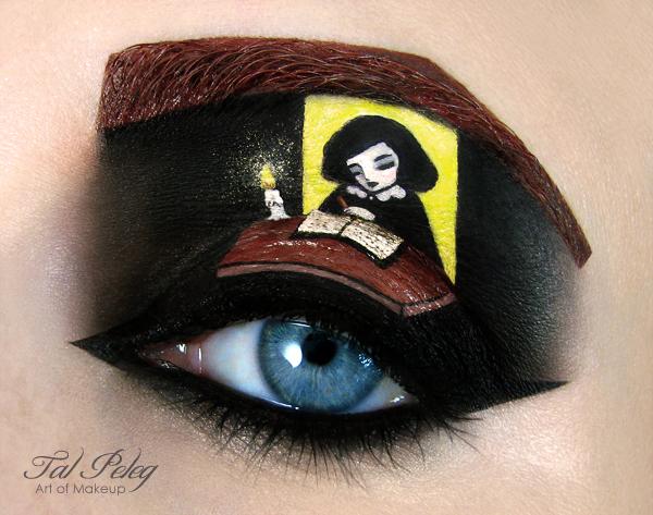【攝影蟲】眼皮作画布的化粧藝術家_图1-8
