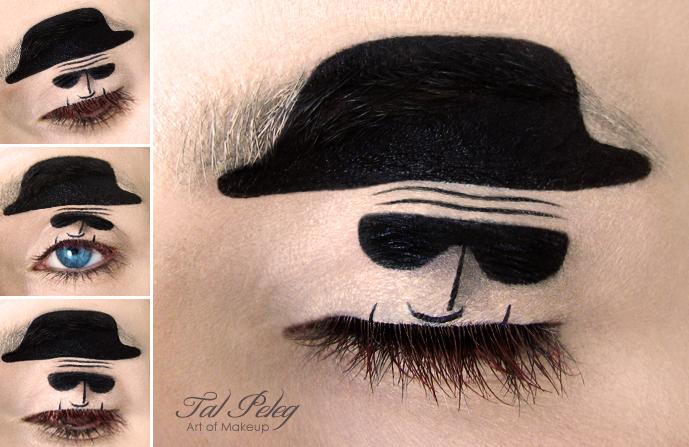 【攝影蟲】眼皮作画布的化粧藝術家_图1-9
