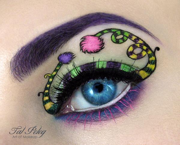 【攝影蟲】眼皮作画布的化粧藝術家_图1-11