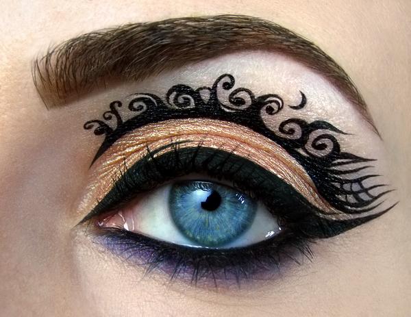 【攝影蟲】眼皮作画布的化粧藝術家_图1-12