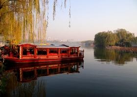 游拍美丽山东 济南大明湖