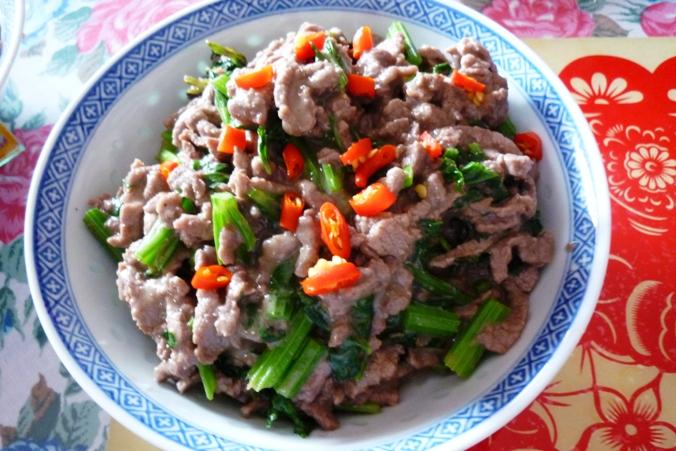 《江南小菜》——薄荷牛肉丝_图1-6