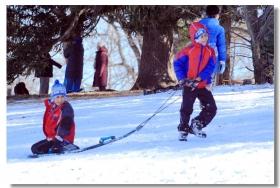 凯辛娜公园儿童滑雪乐
