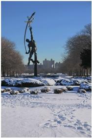 雪后寻找美景