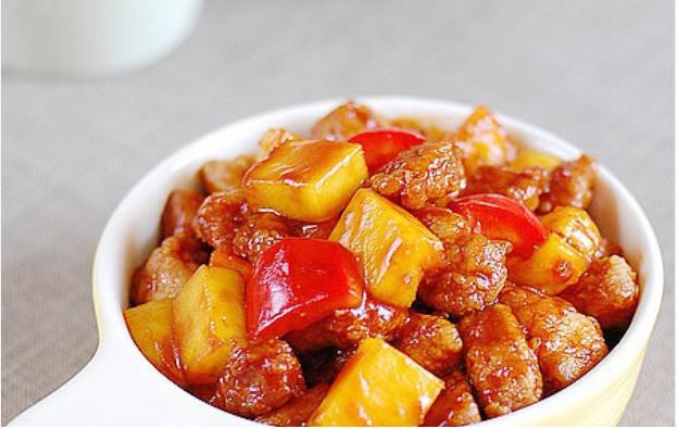好吃的菠萝菜 菠萝咕咾肉_图1-1