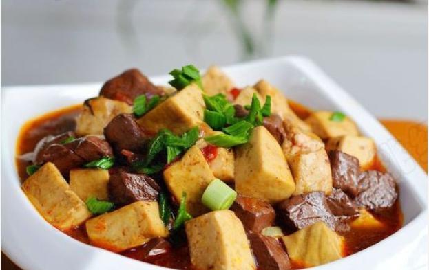 鸳鸯豆腐——口感滑嫩,味道超好哦的做法_图1-1