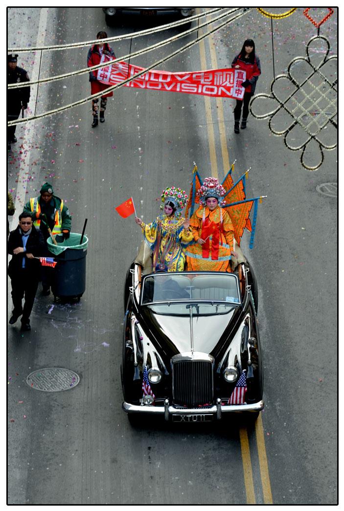 纽约曼哈顿唐人街--马年贺新春_图1-5