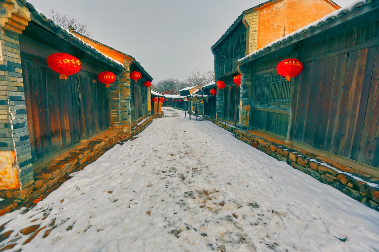 纪念2014年沂蒙大地第一场雪_图1-3