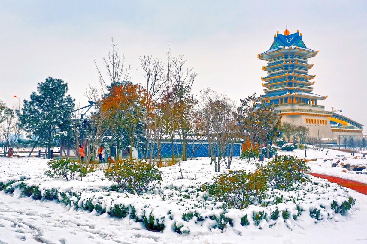纪念2014年沂蒙大地第一场雪_图1-4