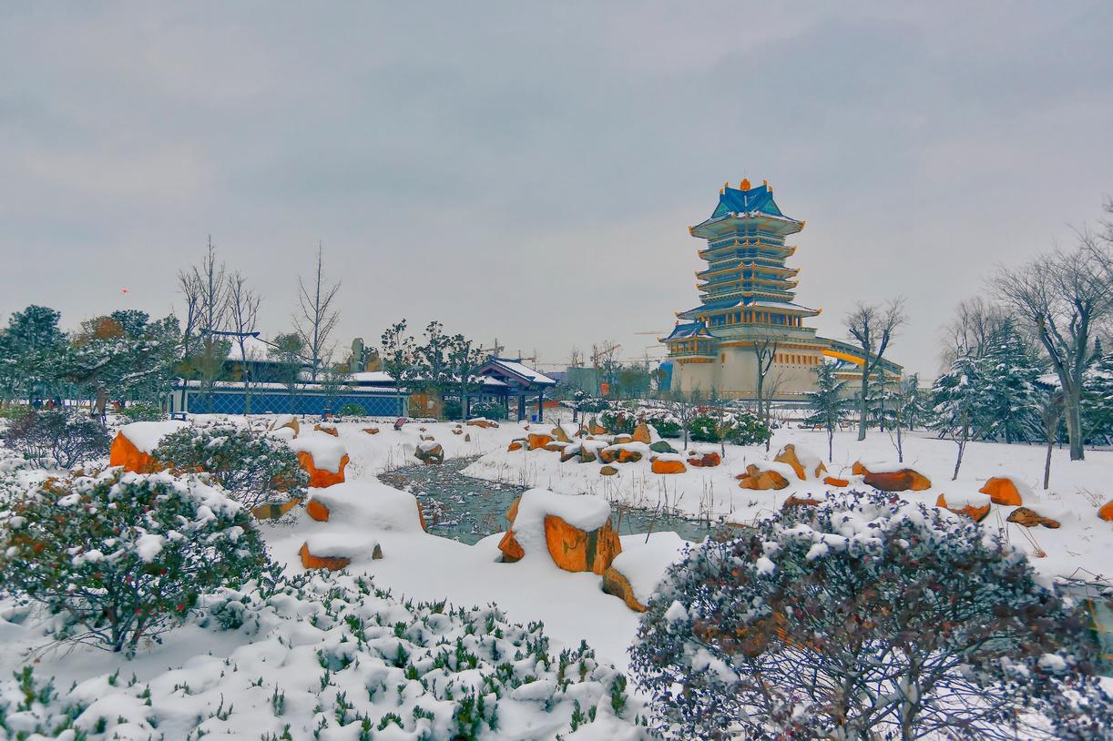 纪念2014年沂蒙大地第一场雪_图1-6