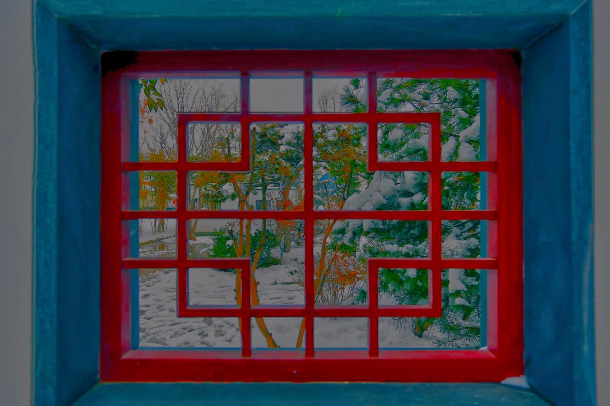 纪念2014年沂蒙大地第一场雪_图1-11