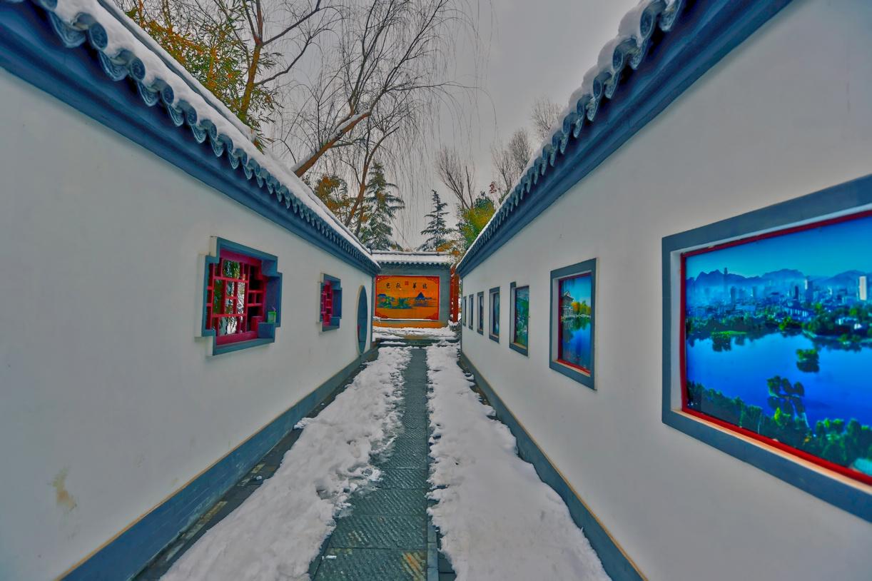 纪念2014年沂蒙大地第一场雪_图1-12