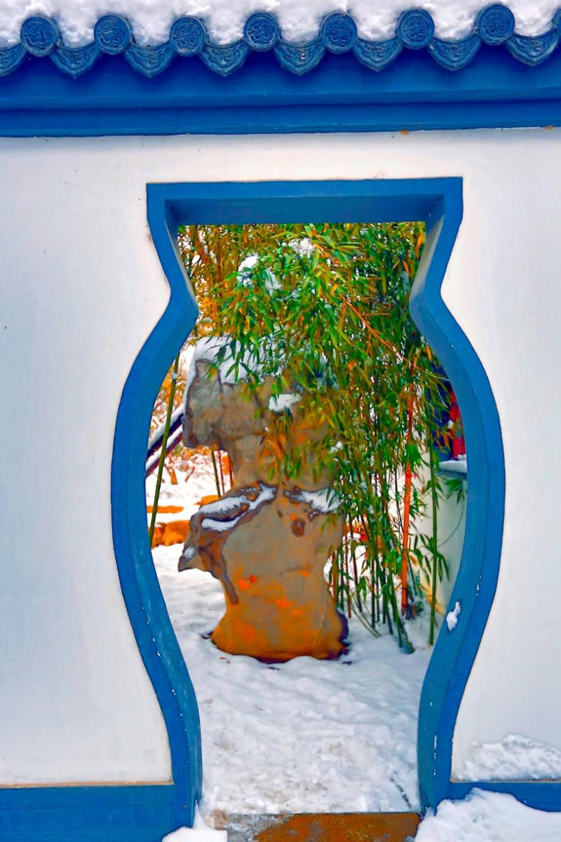 纪念2014年沂蒙大地第一场雪_图1-15