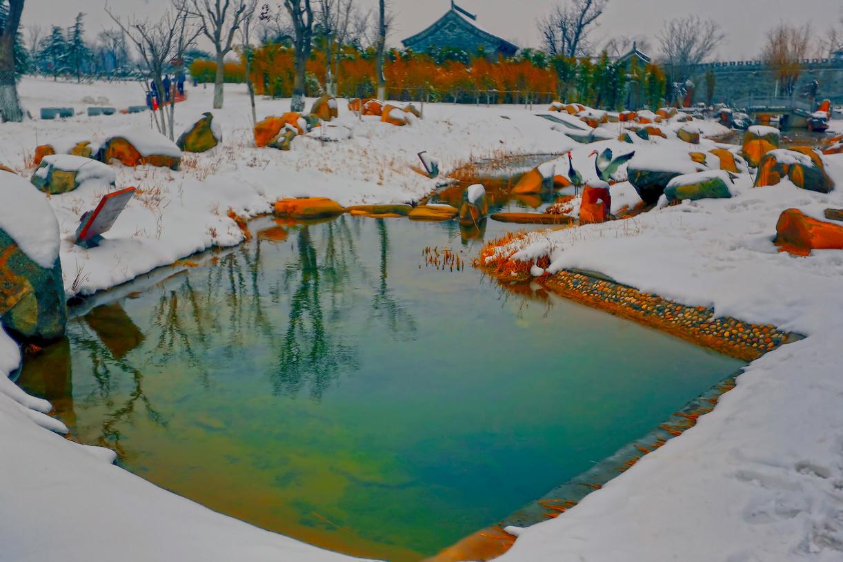 纪念2014年沂蒙大地第一场雪_图1-17