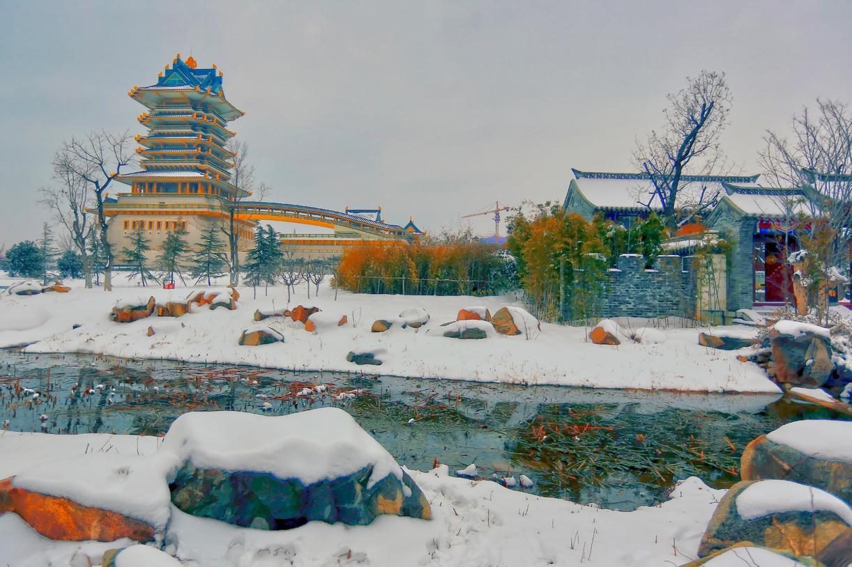 纪念2014年沂蒙大地第一场雪_图1-18