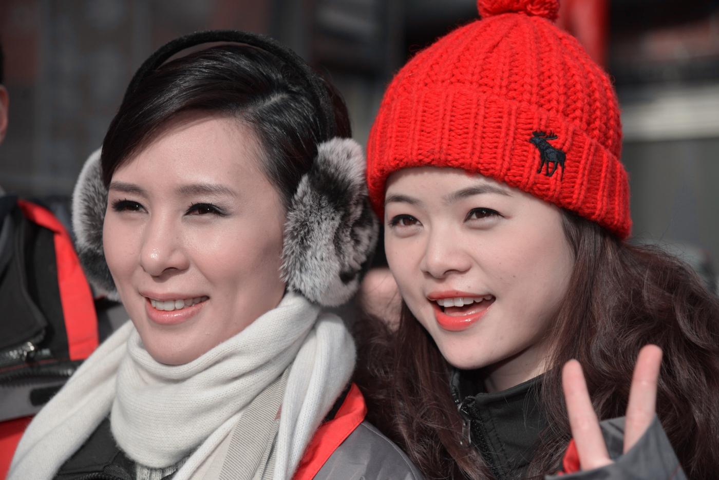 美国中文电视台的美丽女主播。_图1-4