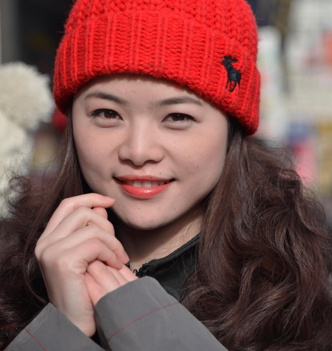 美国中文电视台的美丽女主播。_图1-2