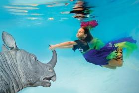 【攝影蟲】Elena Kalis 的奇幻水底世界