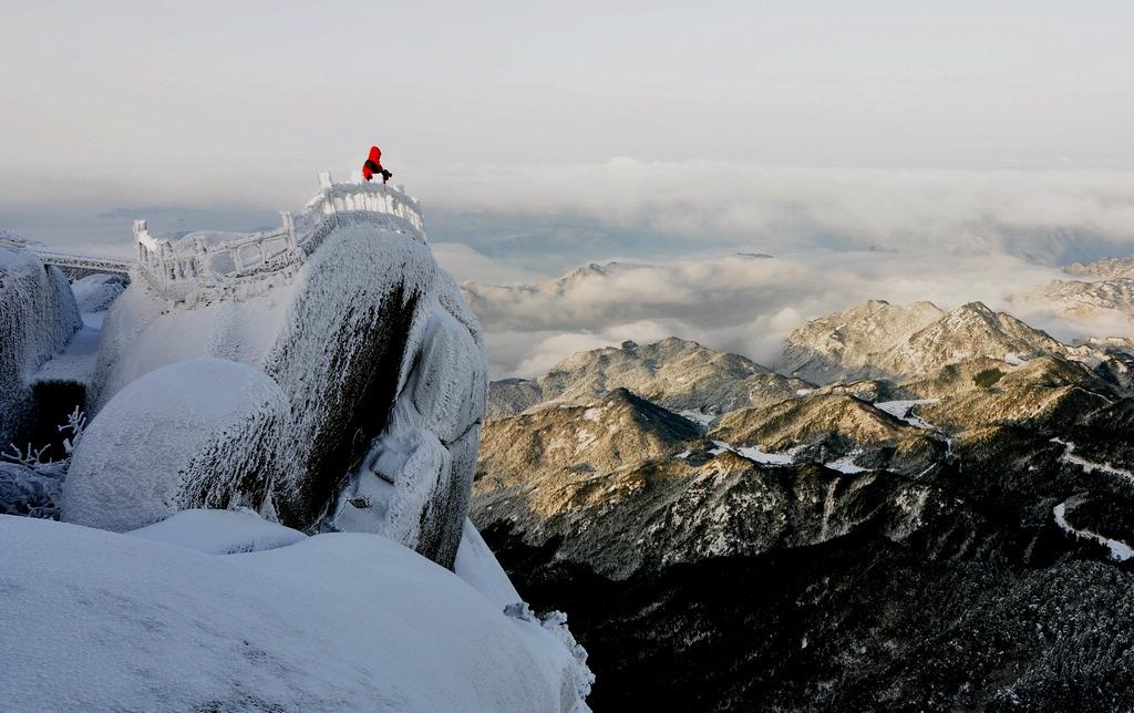 天柱山----雪的风情_图1-15