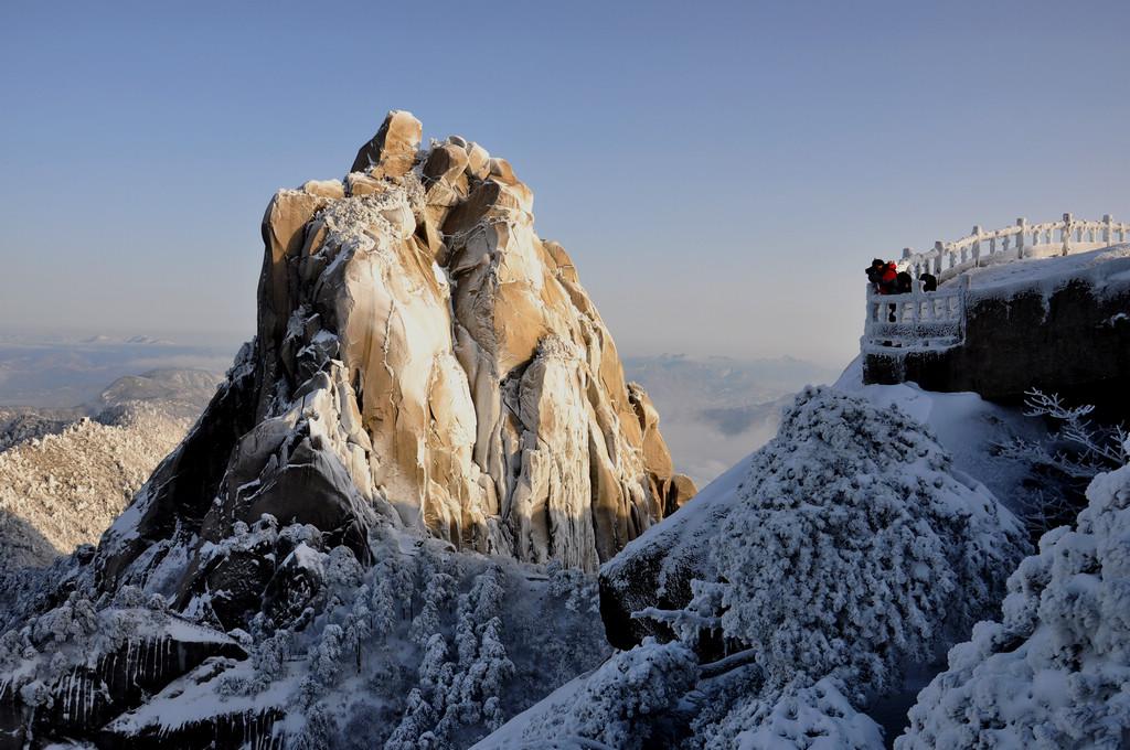 天柱山----雪的风情_图1-13