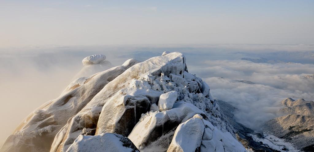 天柱山----雪的风情_图1-12
