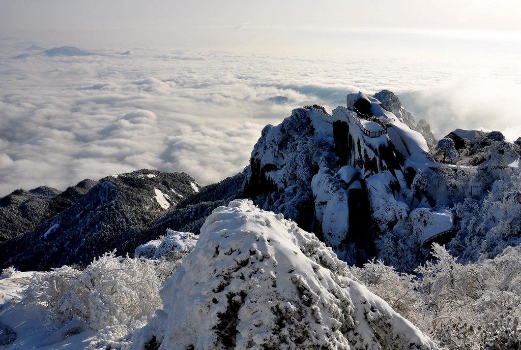 天柱山----雪的风情_图1-10