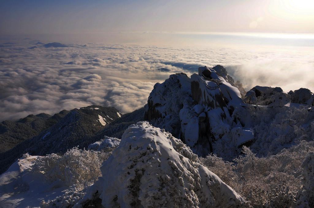 天柱山----雪的风情_图1-9