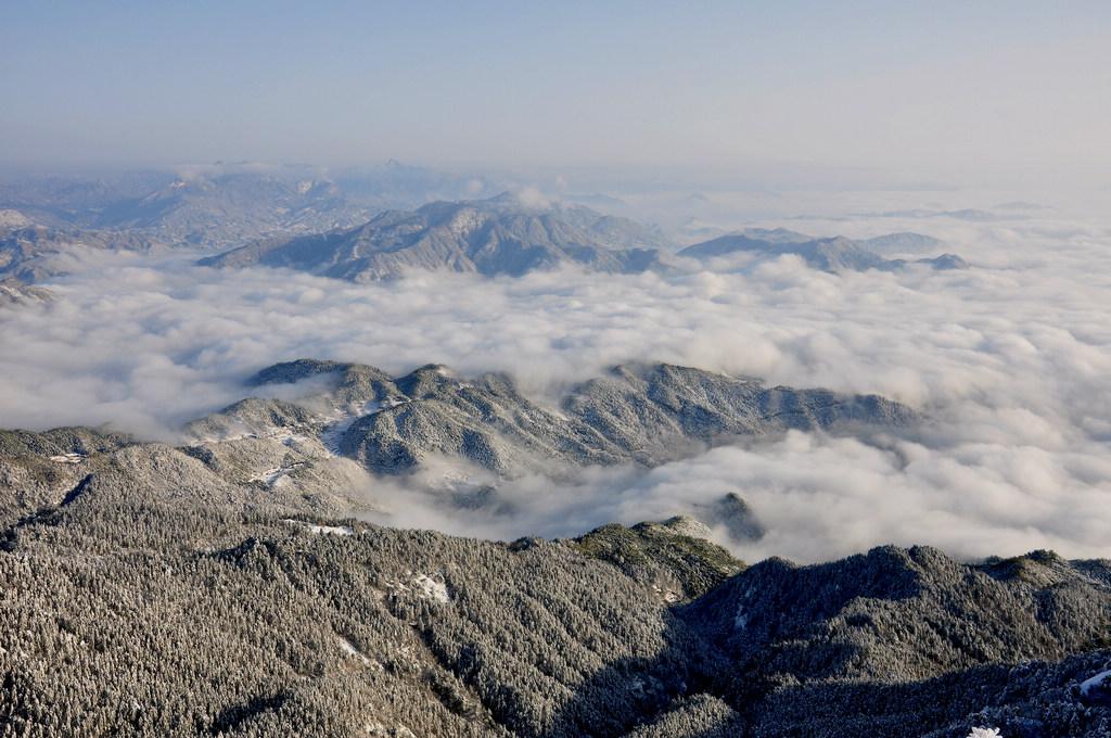 天柱山----雪的风情_图1-8