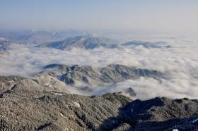 天柱山----雪的风情