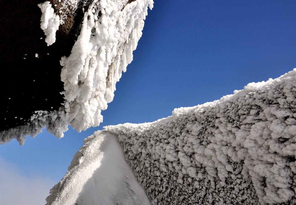 天柱山----雪的风情_图1-4