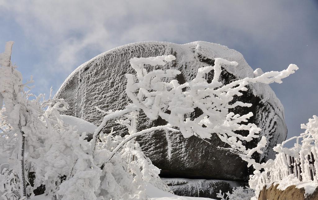 天柱山----雪的风情_图1-2