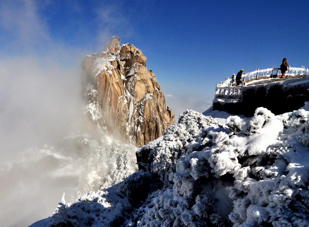 天柱山----雪的风情_图1-1