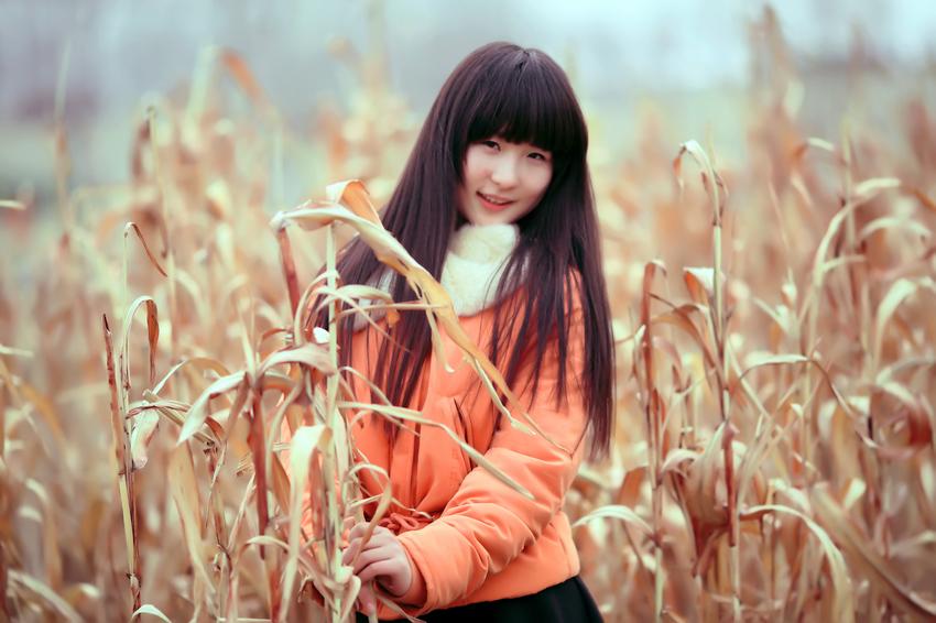 冬末的色彩---临沂女孩梓晴_图1-1