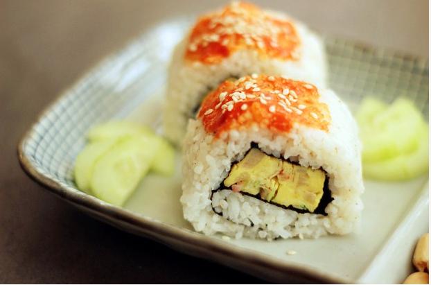 培根厚蛋烧寿司_图1-1