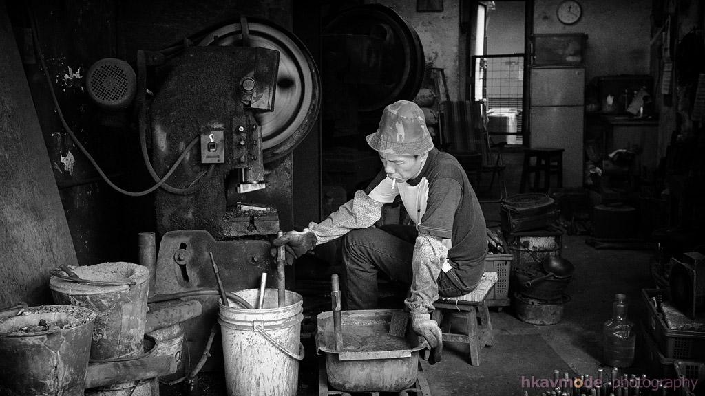 【攝影蟲】被遺忘了的行業__炮尖鍛造--Dennis Dung_图1-17