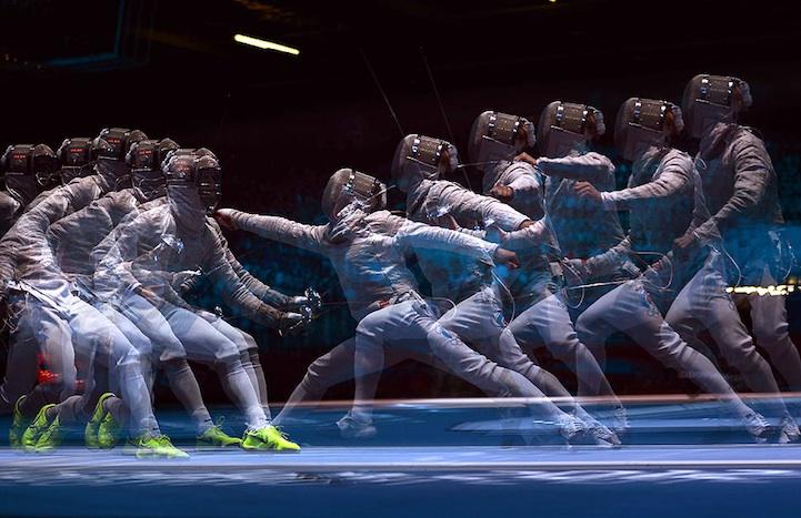 【攝影蟲】令人耳目一新的奧運会多重曝光照片_图1-13