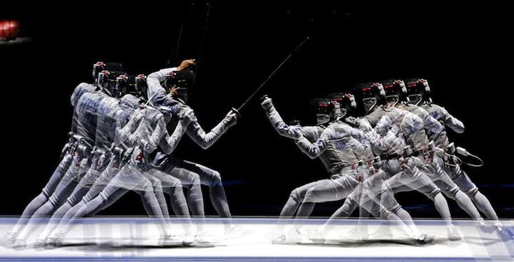 【攝影蟲】令人耳目一新的奧運会多重曝光照片_图1-12