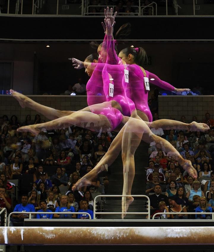 【攝影蟲】令人耳目一新的奧運会多重曝光照片_图1-9