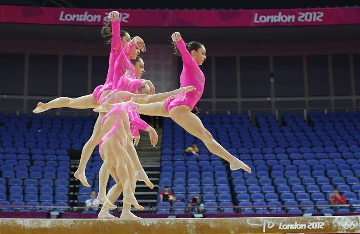 【攝影蟲】令人耳目一新的奧運会多重曝光照片_图1-10
