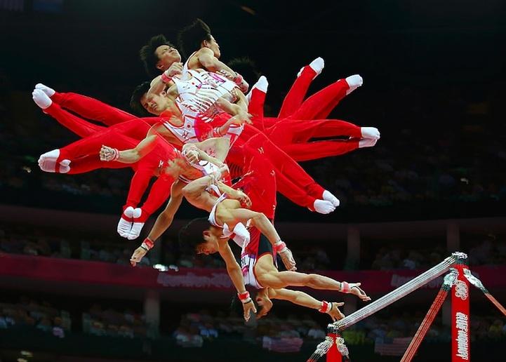 【攝影蟲】令人耳目一新的奧運会多重曝光照片_图1-11