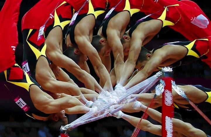 【攝影蟲】令人耳目一新的奧運会多重曝光照片_图1-3