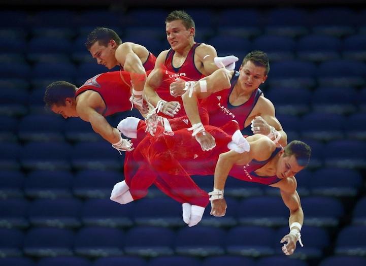 【攝影蟲】令人耳目一新的奧運会多重曝光照片_图1-4